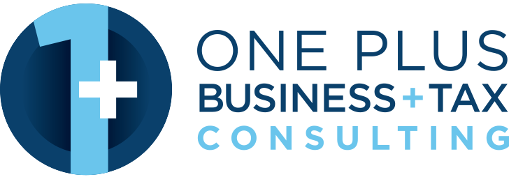 One Plus Business and Tax Consulting Logo